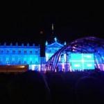 Tatort-Premiere: Leinwand zeigt den Abspann