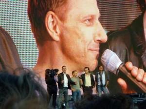 Tatort-Premiere: Richy Müller auf der Leinwand