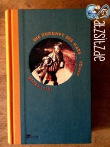 """Cover von """"Die Zukunft des Mars"""" aus dem rowohlt-Verlag. Orange Eyecather, sonst schlicht."""