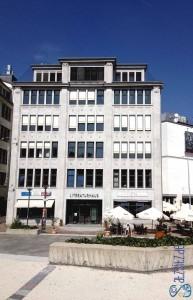 Außenansicht des Literaturhaus Stuttgart, Heim der Literarischen Salons