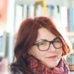 Portrait von Elisabeth Weller, Leiterin der Literarischen Salons