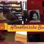 Bildcollage aus der Altmoeller'schen Buchhandlung in Lindau: Gemütlicher Leseort auf satzsitz.de