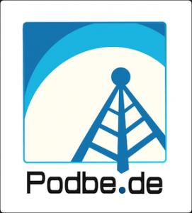 Logo Podbe: blau