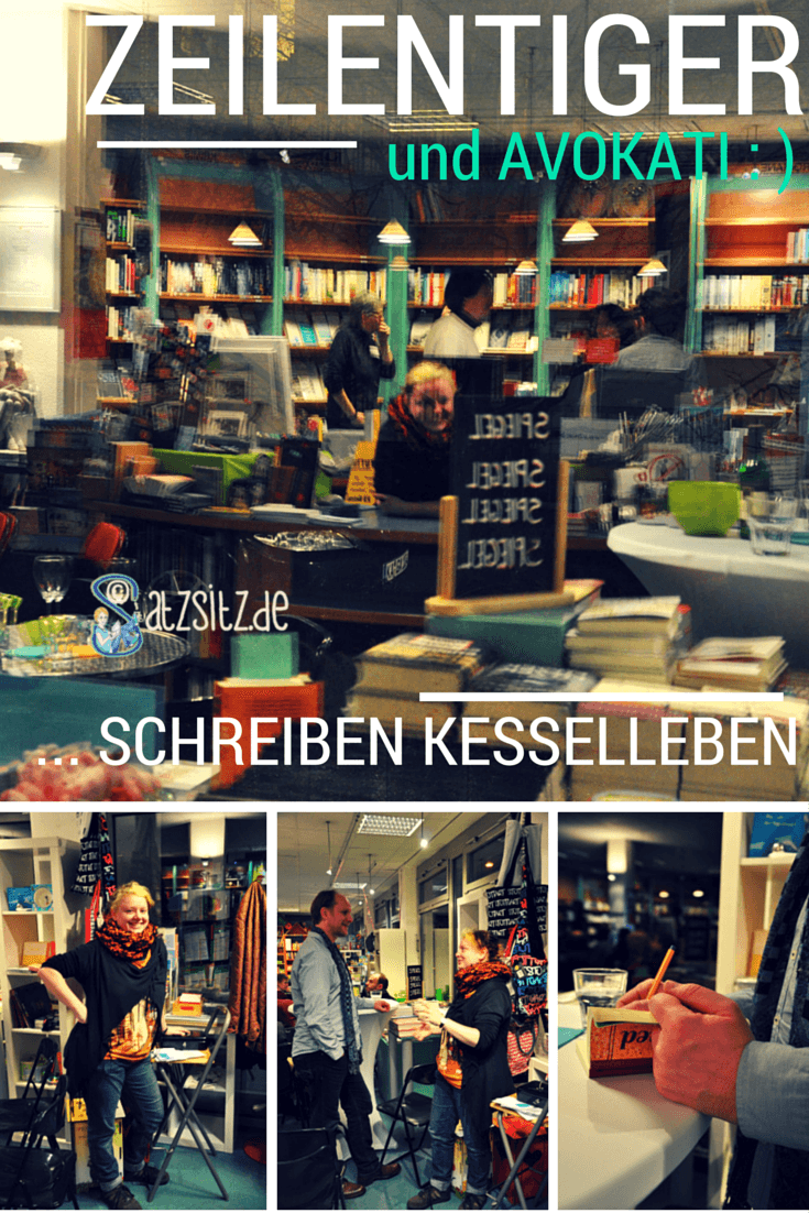 Blogger zeilentiger und Buchhändlerin Kati in der SchillerBuchhandlung