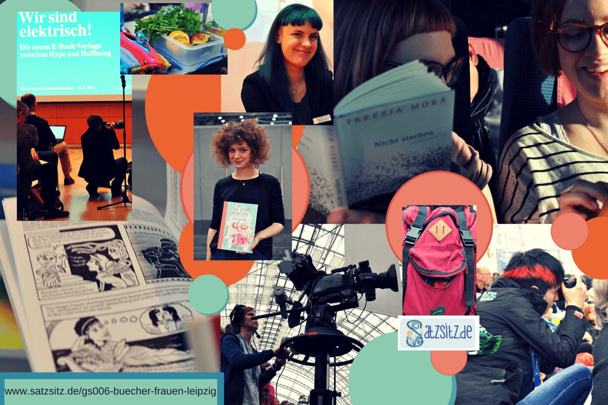 Collage von das A&O zur Leipziger Buchmesse 2015. Frauen und Feminismus im Fokus.