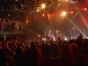 Mark Owen und die Fans im Gibson Club Frankfurt