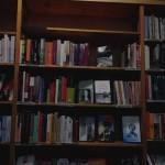 Bücherregal der Buchhandlung im Schanzenviertel: Feministische und lesbische Literatur