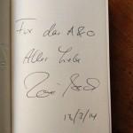 Signiertes Buch von Zoe Beck für das A&O