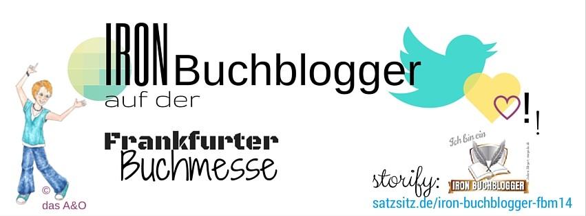 Illustration von das A&O zum Treffen der Iron Buchblogger auf der Frankfurter Buchmesse